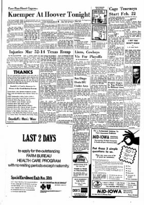 Carrol Daily Times Herald from Carroll, Iowa on November 27, 1970 · Page 18