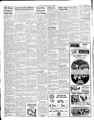 Ironwood Daily Globe from Ironwood, Michigan on August 7, 1965 · Page 2