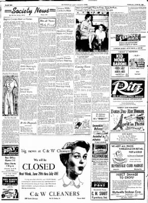 The Courier News from Blytheville, Arkansas on June 23, 1953 · Page 2