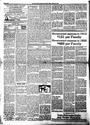 The Malvern Leader from Malvern, Iowa on March 8, 1934 · Page 2