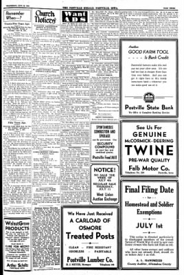 Postville Herald from Postville, Iowa on June 26, 1946 · Page 3
