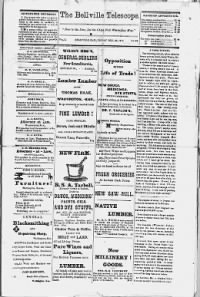 Sample Belleville Telescope front page