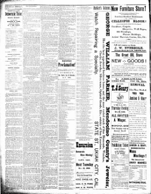 Ukiah Daily Journal from Ukiah, California on October 17, 1890 · Page 2