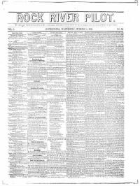 Sample Rock River Pilot front page