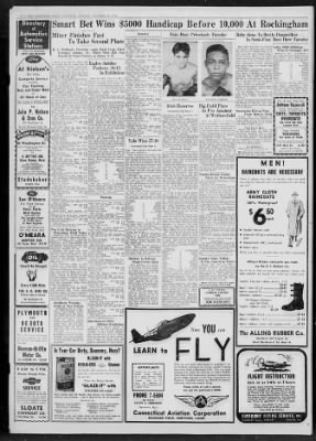 Hartford Courant from Hartford, Connecticut on October 15, 1944 · 46