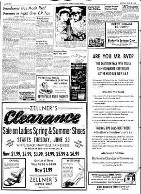 The Courier News from Blytheville, Arkansas on June 29, 1953 · Page 2