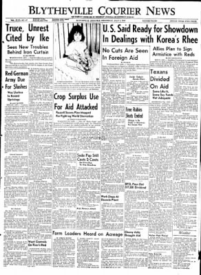 The Courier News from Blytheville, Arkansas on July 1, 1953 · Page 1