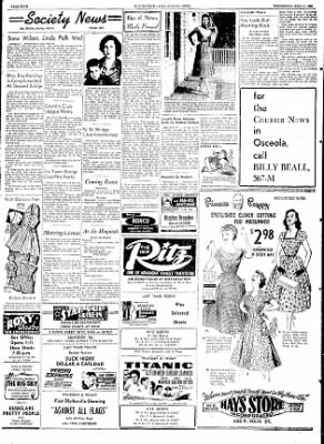 The Courier News from Blytheville, Arkansas on July 1, 1953 · Page 6