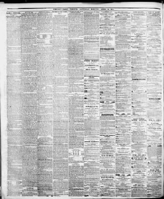 Chicago Tribune from Chicago, Illinois on April 21, 1855 · 1