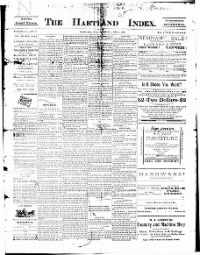Sample The Hancock News front page