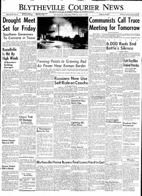 The Courier News from Blytheville, Arkansas on July 7, 1953 · Page 1