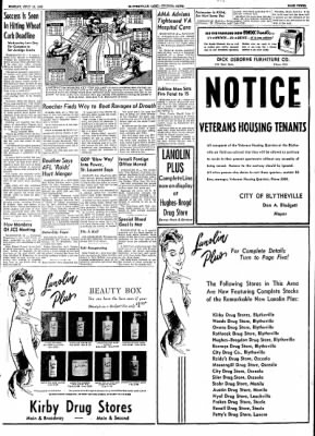 The Courier News from Blytheville, Arkansas on July 13, 1953 · Page 3