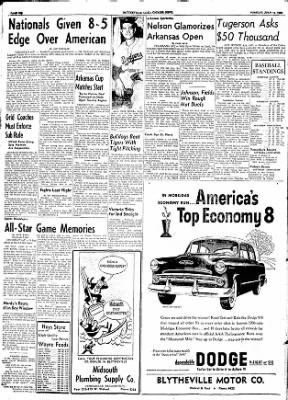 The Courier News from Blytheville, Arkansas on July 14, 1953 · Page 6