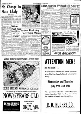 The Courier News from Blytheville, Arkansas on July 14, 1953 · Page 7