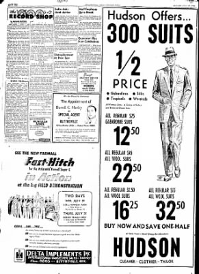 The Courier News from Blytheville, Arkansas on July 20, 1953 · Page 10