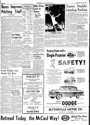 The Courier News from Blytheville, Arkansas on July 21, 1953 · Page 6