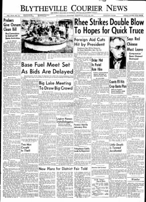 The Courier News from Blytheville, Arkansas on July 22, 1953 · Page 1