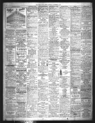 The Indianapolis News from Indianapolis, Indiana on November 2, 1918