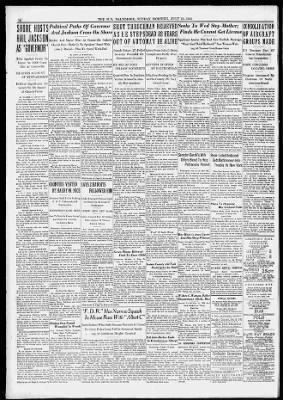 The Baltimore Sun from Baltimore, Maryland on July 16, 1933 · 16