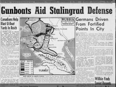 Clip of the Day: Gunboats Aid Stalingrad Defense