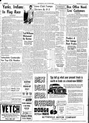 The Courier News from Blytheville, Arkansas on July 29, 1953 · Page 6