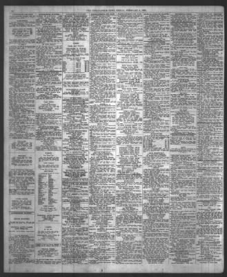 the indianapolis news from indianapolis, indiana on february 6, 1920
