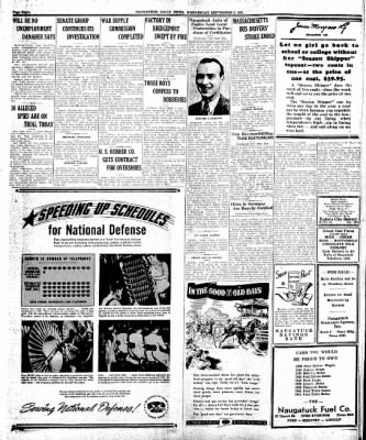 Naugatuck Daily News from Naugatuck, Connecticut on September 3, 1941 · Page 2