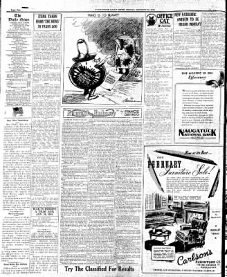 Naugatuck Daily News from Naugatuck, Connecticut on January 30, 1942 · Page 3