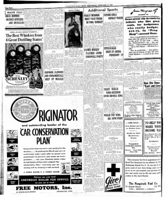 Naugatuck Daily News from Naugatuck, Connecticut on February 11, 1942 · Page 1