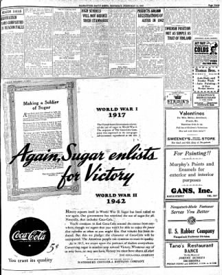 Naugatuck Daily News from ,  on February 12, 1942 · Page 3