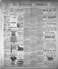 Sample Minneapolis Commercial front page