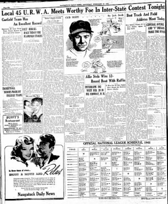 Naugatuck Daily News from Naugatuck, Connecticut on February 28, 1942 · Page 6