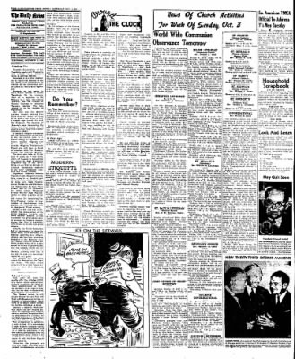 Naugatuck Daily News from Naugatuck, Connecticut on October 1, 1949 · Page 4