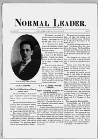 Sample Normal Leader front page