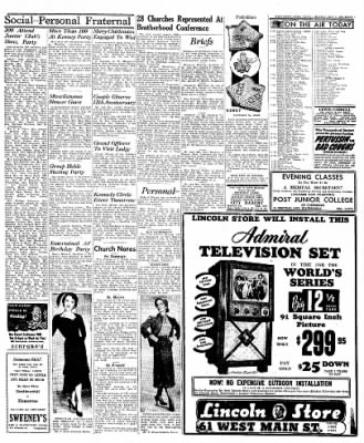 Naugatuck Daily News from Naugatuck, Connecticut on October 3, 1949 · Page 3
