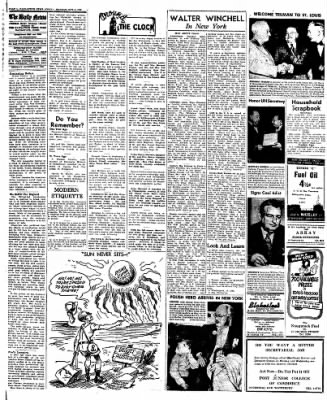 Naugatuck Daily News from Naugatuck, Connecticut on October 3, 1949 · Page 4