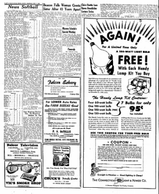 Naugatuck Daily News from ,  on October 3, 1949 · Page 8
