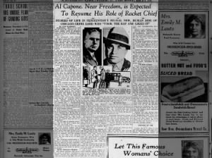 Al Capone Topics On Newspapers Com