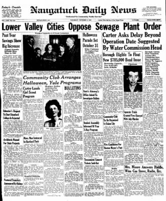 Naugatuck Daily News from Naugatuck, Connecticut on October 6, 1949 · Page 1