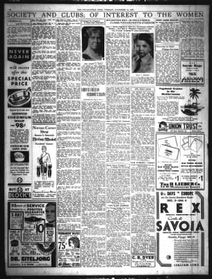 The Indianapolis News from Indianapolis, Indiana on November 15, 1932 · Page 10