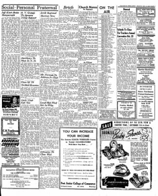Naugatuck Daily News from Naugatuck, Connecticut on October 10, 1949 · Page 3