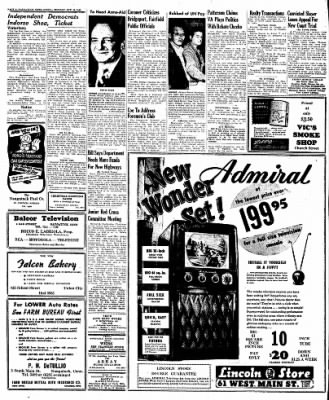 Naugatuck Daily News from Naugatuck, Connecticut on October 10, 1949 · Page 8