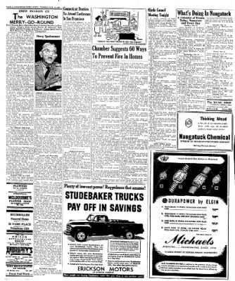 Naugatuck Daily News from Naugatuck, Connecticut on October 11, 1949 · Page 2