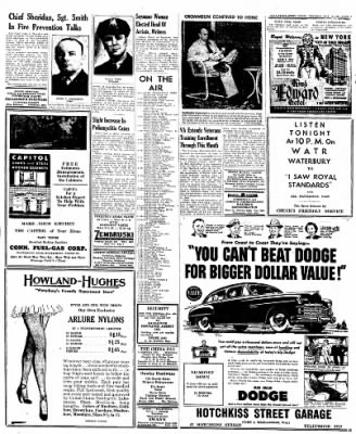 Naugatuck Daily News from Naugatuck, Connecticut on October 11, 1949 · Page 7