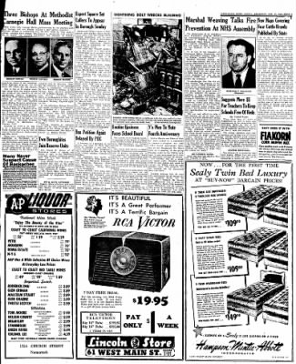 Naugatuck Daily News from Naugatuck, Connecticut on October 13, 1949 · Page 9