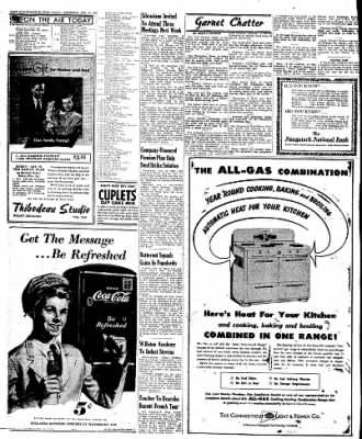 Naugatuck Daily News from Naugatuck, Connecticut on October 13, 1949 · Page 12