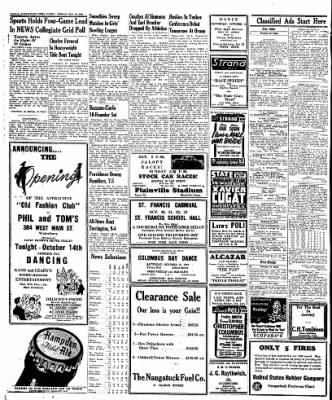 Naugatuck Daily News from Naugatuck, Connecticut on October 14, 1949 · Page 4