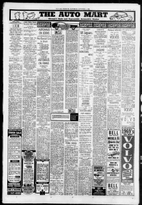 Chicago Tribune from Chicago, Illinois on October 5, 1968 · 21 on