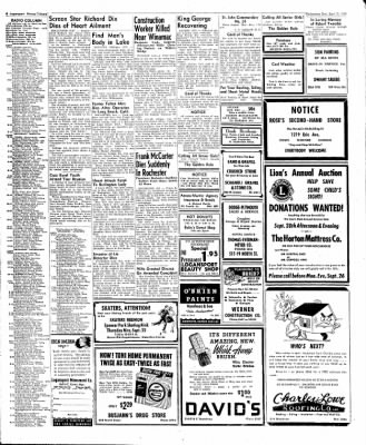 Logansport Pharos-Tribune from Logansport, Indiana on September 21, 1949 · Page 8