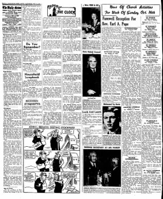 Naugatuck Daily News from Naugatuck, Connecticut on October 15, 1949 · Page 4